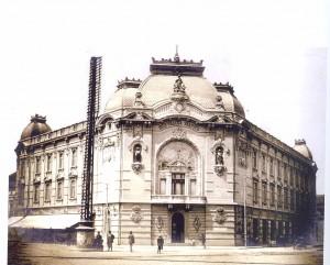 Zgrada Beogradske zadruge, oko 1910, u Karađorđevoj ulici, Beograd