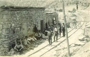 Kod ulaza u Sokolovački tunel, 9.6.1907