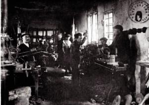 Ливница и радионица Милорада Ицића 1912