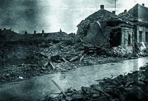Рушевине Зајечара 1944