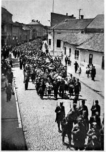 Пренос посмртних остатака, октобар 1944