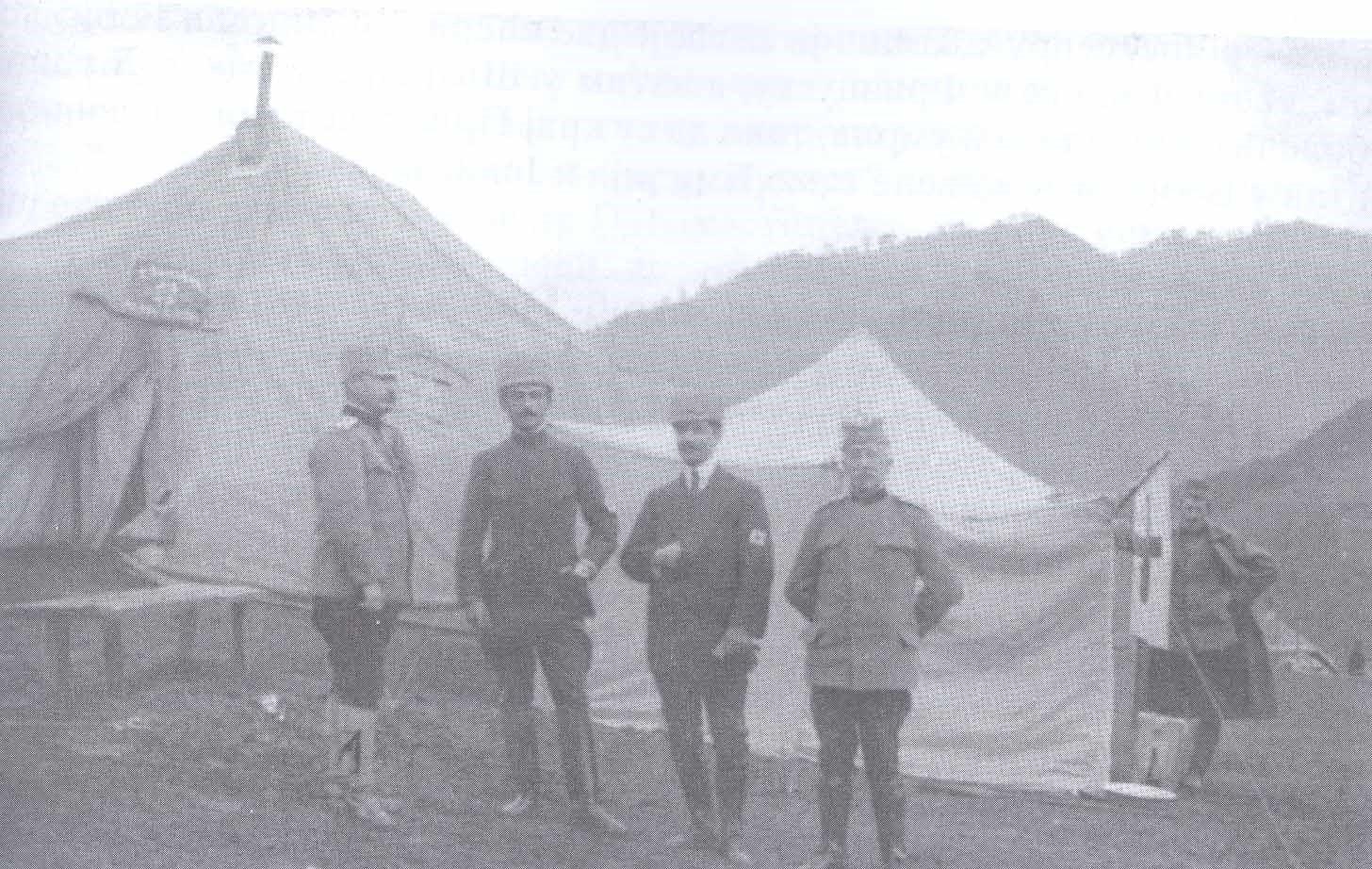 3. Др Платон као командир I пољске болнице Дринске дивизије