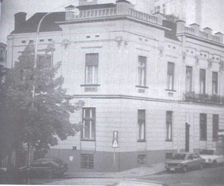 2. Izgled kuće dr Platona Papakostopulosa u ul.Topličin venac 9, (ugao sa ul.Carice Milice)Beograd