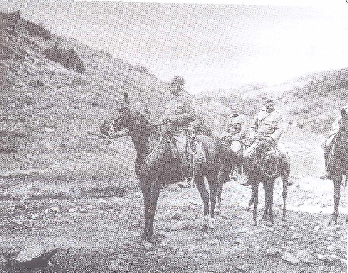 1. Vojvoda Stepa Stepanović obilazi granicu kod Pirota, 1913. godina R.Bojović, Vojvoda Stepa Stepanović 1856-1929, Čačak 2006.