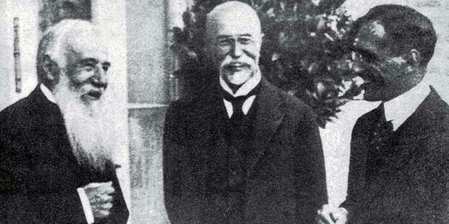 Pašić,Masarik i Kralj Aleksandar