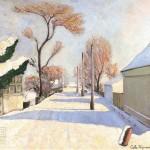 Šumanović-Šid pod snegom  1935