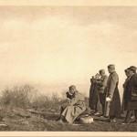 Краљ Петар на бојишту код Даросаве 1914