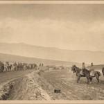 Регент Александар врши смотру аљтиљерије после освајања Битоља 1912