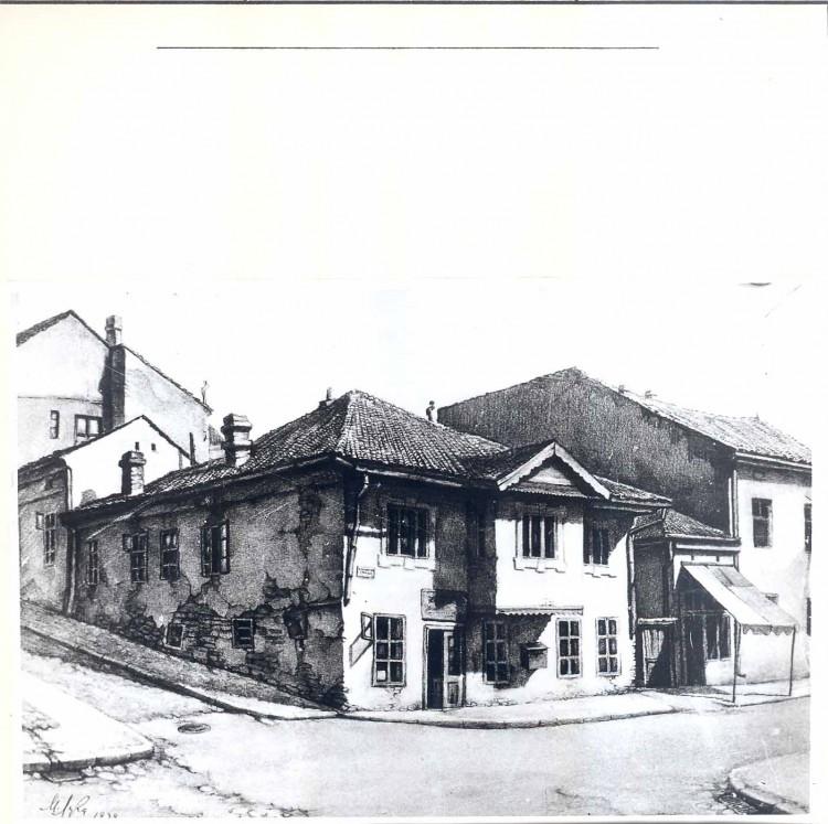 Некадашњи изглед Куће у Гаврила Принципа 35, 19. век