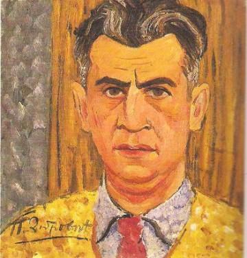 Petar-Dobrovic,-Autoportret,-1932_0