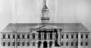 План Градске куће из 1832