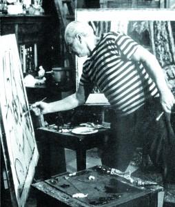 Коњовић у галерији