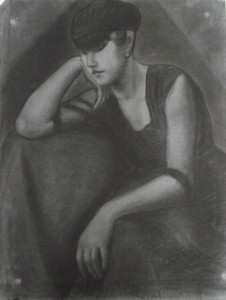Налакћена девојка, 1919.г.