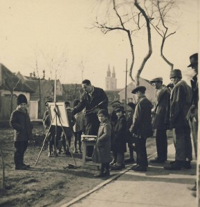 Nastanak slike ULICA U SOMBOR, 1938