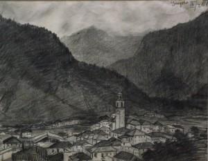 Поглед на Пинзоло 1918, г.