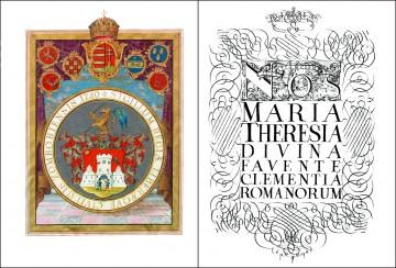 Povelja slobodnog i kraljevskog grada Sombora (grb grada i titula carice)