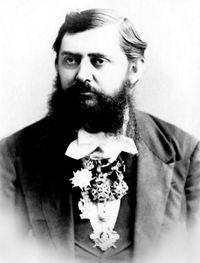 Dr_Vladan_Dj._Djordjevic,_pukovnik_srpske_vojske_(krajem_19._veka)