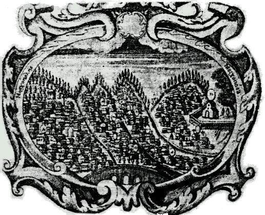 Москопоље, гравура из 1740.