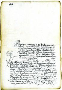Препис повеље о елибертацији царице Марије Терезије