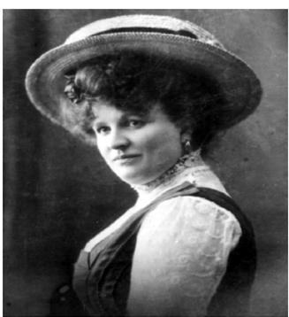 Žanka Stokić 1907. godine