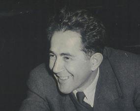 Stevan_Kragujevic,_Milovan_Djilas,1950