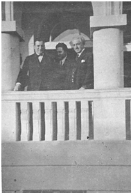 S. Vinaver, P. Stefanović i S. Stefanović