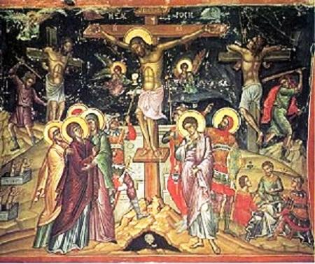 Raspeće Hristovo na Veliki petak