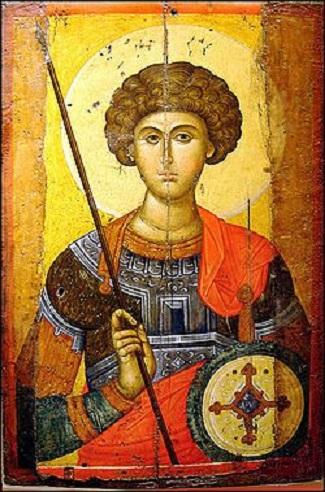 Sveti velikomučenik Georgije ili Sveti Đorđe bio je rimski vojnik, koji je mučenički stradao tokom progona hrišćana