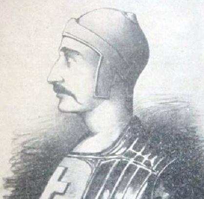 """Анахрони портрет цара Јована Ненада је рад Л. Бабића објављен у """"Буњевачкој данициˮ 1927. године"""
