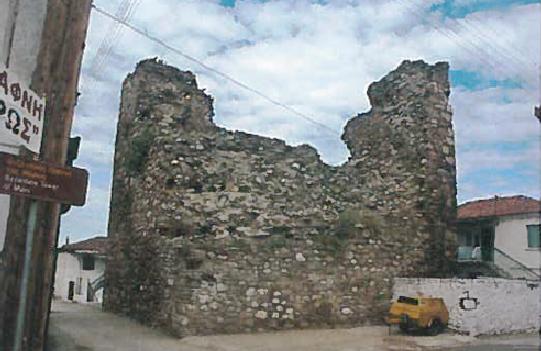 Остаци Марине куле Јежево – данас Дафни у Грчкој