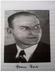 Конов зет и пријатељ Фрања Бах, који је држао књижару стране књиге у Кнез Михаиловој улици бр. 8