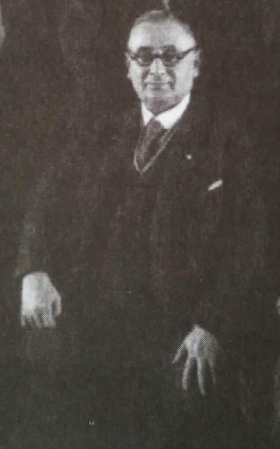 Геца Кон на Скупштини Савеза књижарских организација Краљевине Југославије 1933. године