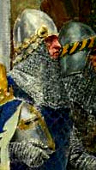 """Палман Брахт (Детаљ са слике """"Крунисање цара Душанаˮ Паје Јовановића)"""