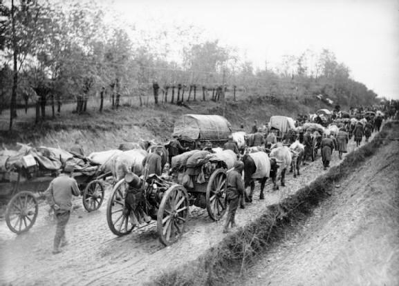 Српска војска током повлачења преко Албаније
