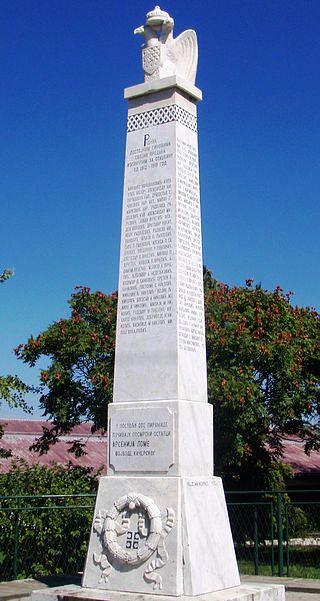 Споменик Арсенију Ломи и ратницима ослободилачких ратова 1912–1918. на Руднику (ФОТО: Ранко Томић)