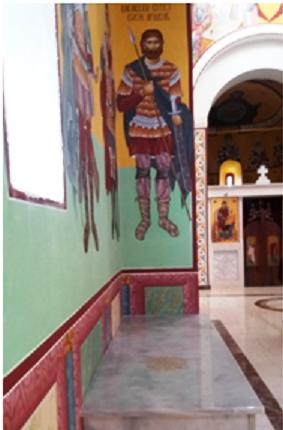 Гроб витеза Косовског боја Павла Орловића