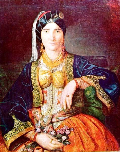 Кнегиња Персида (рад сликарке Катарине Ивановић)