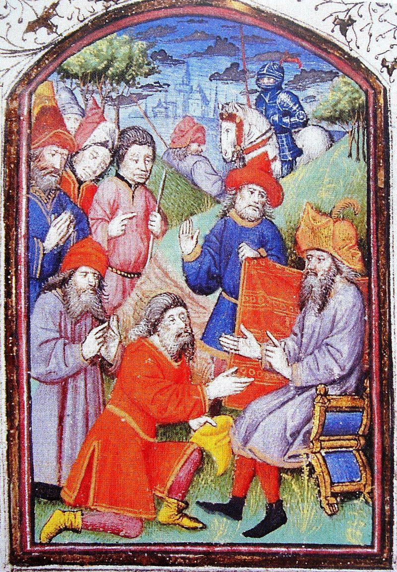 Краљ Киликијске Јерменије Хетум I (1226–1269) на монголском двору 1254. године