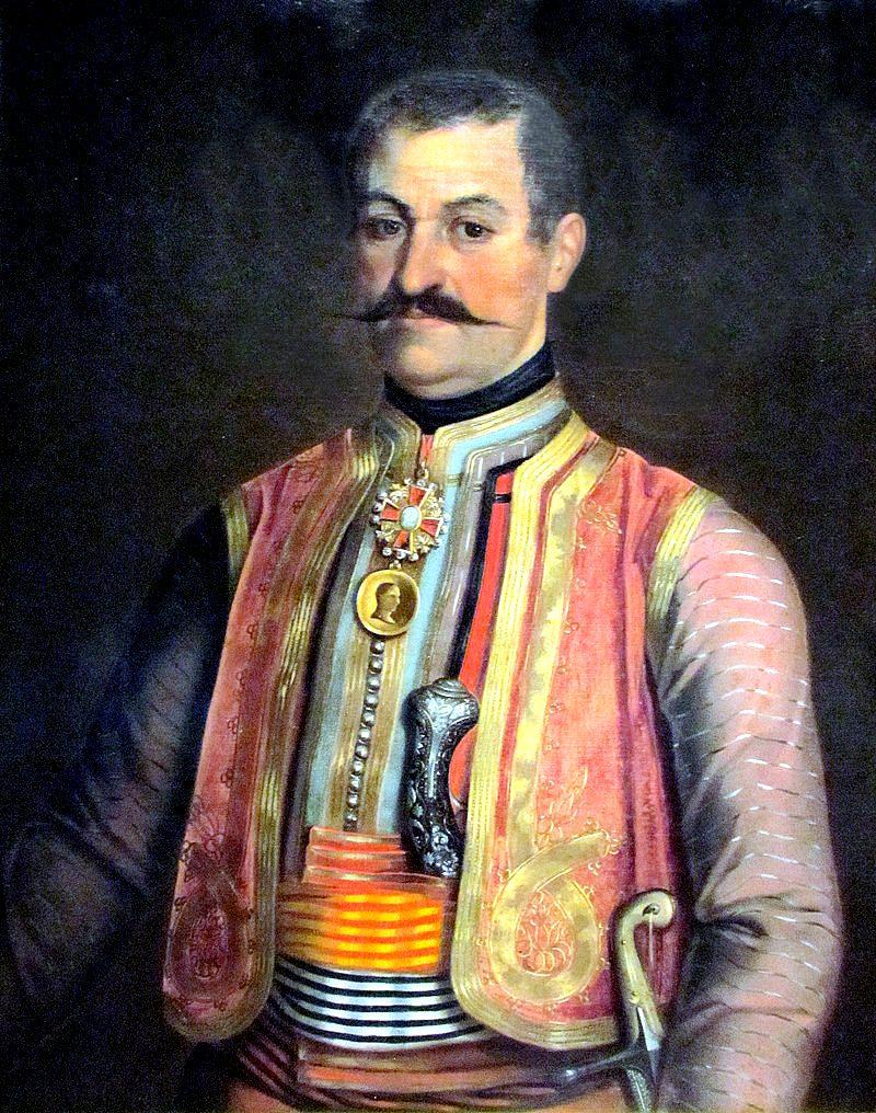 Младен Миловановић (уље на платну Уроша Кнежевића)
