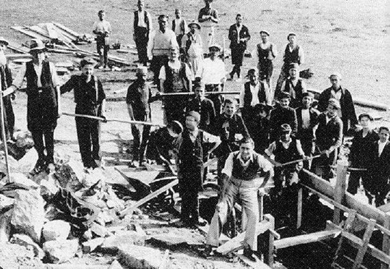 Почетак градње Фабрике оружја и муниције