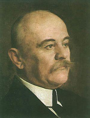 Портрет Јована Цвијића (Урош Предић)