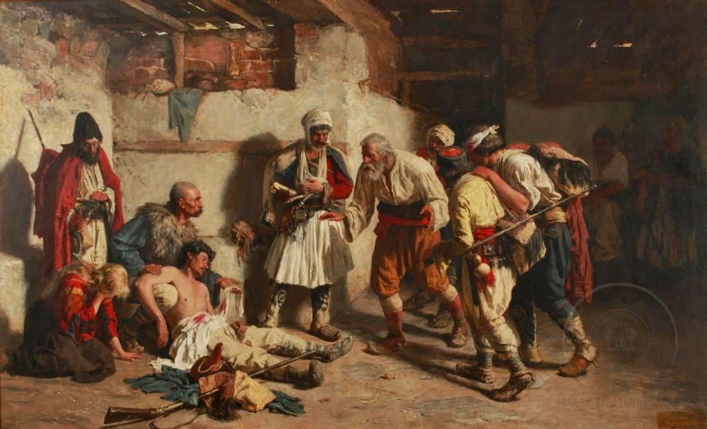 Слика Рањени Црногорац