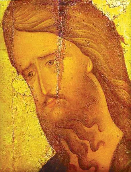John_the_Baptist_(15th_c.,_Rublev_museum)_detail