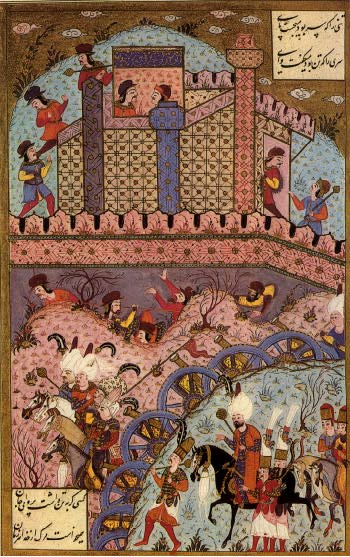 1543-Siege_of_Estolnibelgrad_in_Hungary-Suleymanname