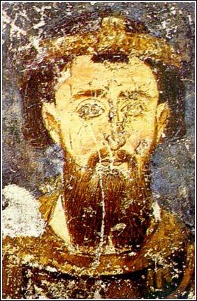 Stefan_the_First-Crowned,_fresco_from_Mileševa