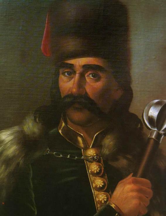 Autor portreta: Vilhemina Mina Karažić Vukomanović